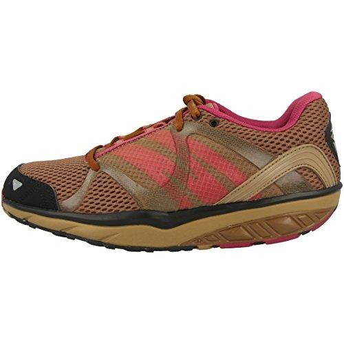 MBT Damen Leasha Trail 5 Lace Up Fitnessschuhe, Oli Nt DST Gr Rub Blk SIL, 37 EU