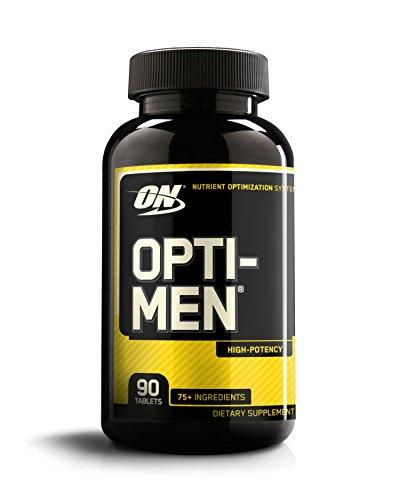 Optimum Nutrition Opti-Men, Mens Daily Multivitamin Supplement with Vitamins C, D, E, B12, 90 Count
