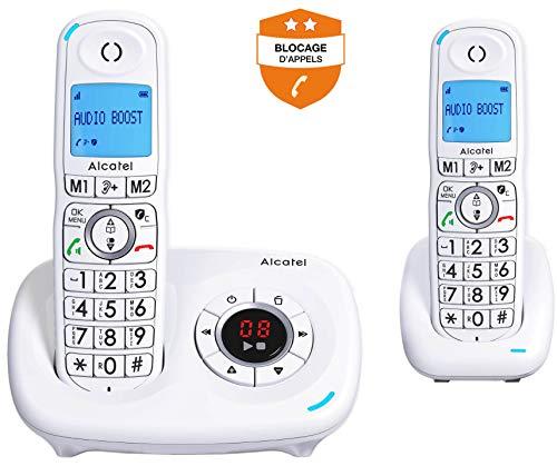 Alcatel XL585 Voice Duo Blanc