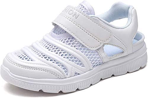Kauson Kinder Schuhe Sportschuhe Mesh Atmungsaktiv Laufschuhe Outdoor Sport Sneaker Turnschuhe Klettverschluss Wanderschuhe Hallenschuhe für Unisex Kinder Kinder 27-39