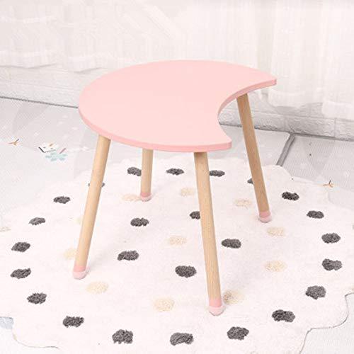 HUDEMR Biurko dla dzieci biurko biurko ergonomiczne rośnie wraz z dzieckiem Łączkotka stół do nauki zabawa stół dla dzieci stół do aktywności dla dzieci (kolor: Różowy, rozmiar: 60 x 49,2 x 50 cm)