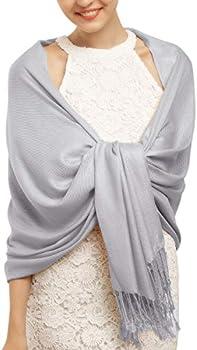 FURTALK Women's Silky Scarf Pashmina Shawls and Wraps