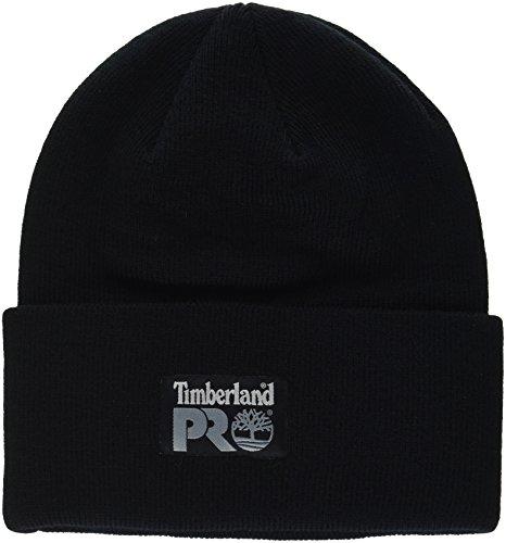 Timberland Men's Watch Cap, Pro Black, One Size