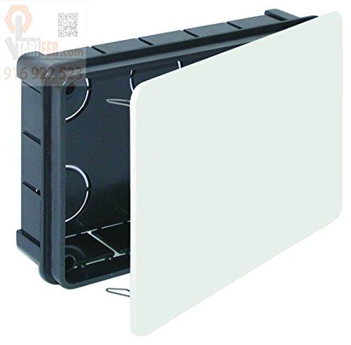 WOLFPACK LINEA PROFESIONAL Caja Empotrar Registro Con Tapa 160 x 100 x...