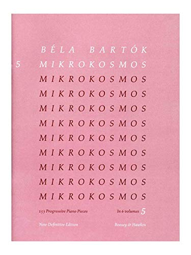 Bartók: Mikrokosmos, Vol. 5 (Piano) New Definitive Edition