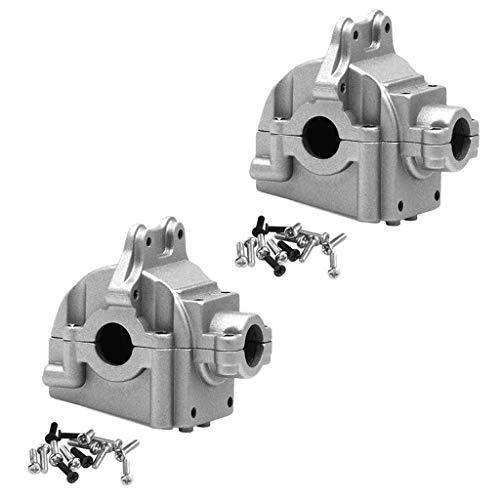 yotijar Juego de engranajes para WLTOYS 144001 1:14 RC Car Crawler Upgrade Parts