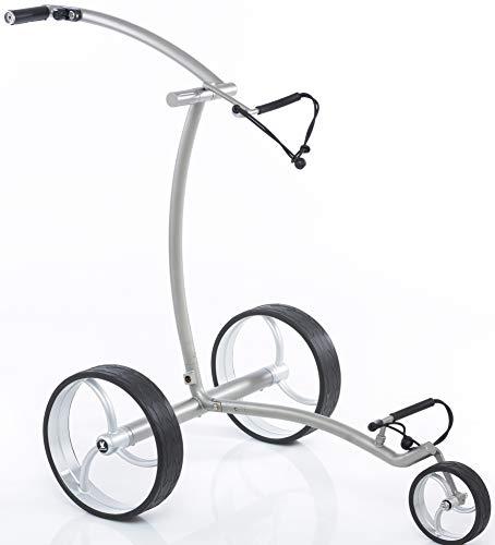 Leisure Golf Elektro Golftrolley Quantum Matt Curve Bergabfahrbremse Timer