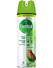 Dettol Surface Disinfectant Spray Sanitizer for Germ-Protection on Hard & Soft Surfaces, Original Pine - 225ml
