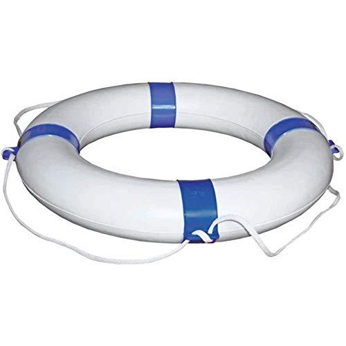 Rettungsring Rettungsreifen Außendurchmesser 65 cm, Farbe blau / weiß