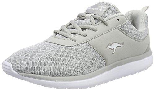 KangaROOS Damen Bumpy Sneakers,Grau(vapor grey 2004),36 EU