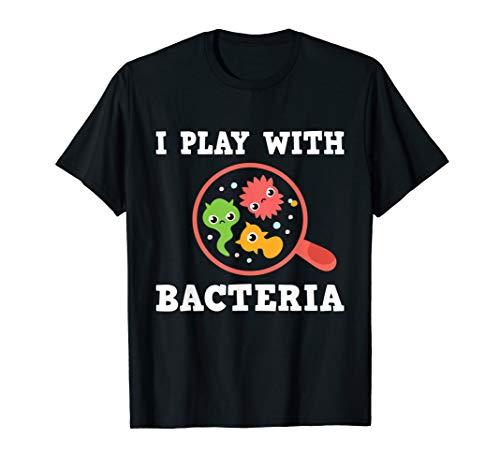 Mikrobiologe Labortechnik Biologie Chemie Studium Student T-Shirt