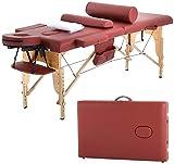 4beauty Portable Massage Table (Coffee)