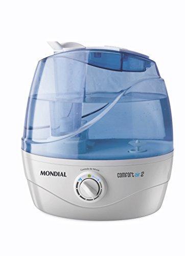 Mondial UA02 Humidificador, 30 W, 2.2 litros, Plástico, Blanco