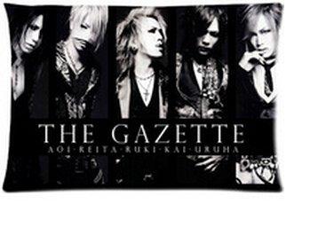 Tuesday New Brand The Gazette Band Zippered Rectangle Pillow Cases Popular Band Kissenbezüge (50cmx65cm)
