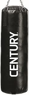 Century MMA Training Bag Vinyl with Chain, Black/Silver, 100-Pound