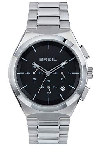 Reloj Breil colección Bend Movimiento de Cuarzo Chrono y Brazalete de Acero para Hombre ES One Size