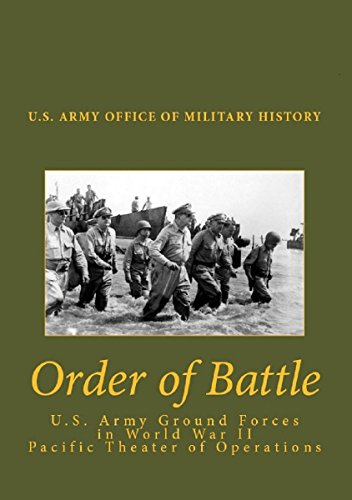 Order of Battle: The United States Army Ground Forces in World War II PacificTheater of Operations (English Edition)
