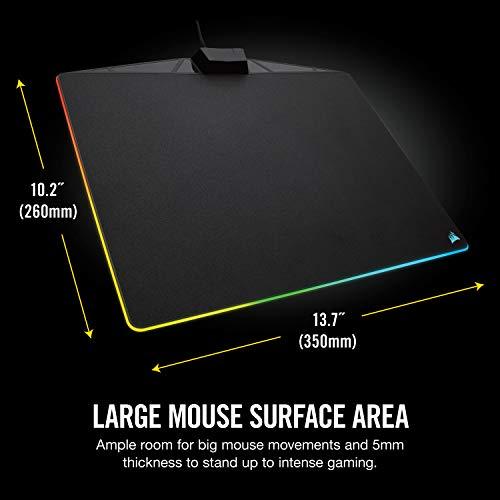 CorsairMM800RGBPOLARISゲーミングマウスパッドMS285CH-9440020-NA