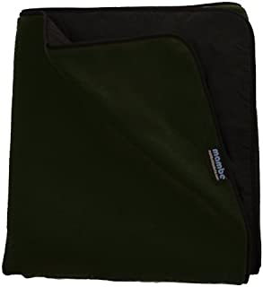 Mambe Extreme Weather 100% Waterproof/Windproof Outdoor Blanket, Camping Blanket and Stadium Blanket with Premium Stuff Sack Made in The USA