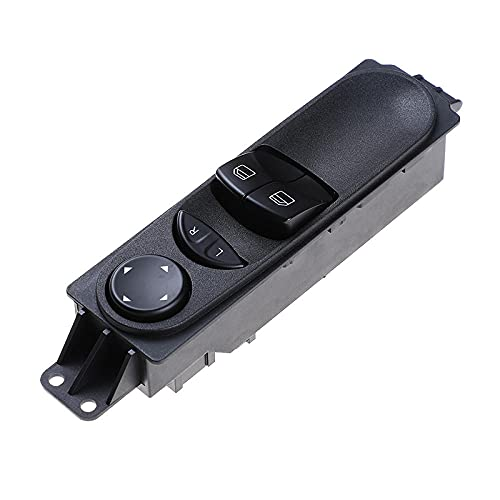 Interruptor de ventana eléctrica principal delantero izquierdo apto para Mercedes Sprinter W906 apto para VW Crafter A9065451213 9065451213