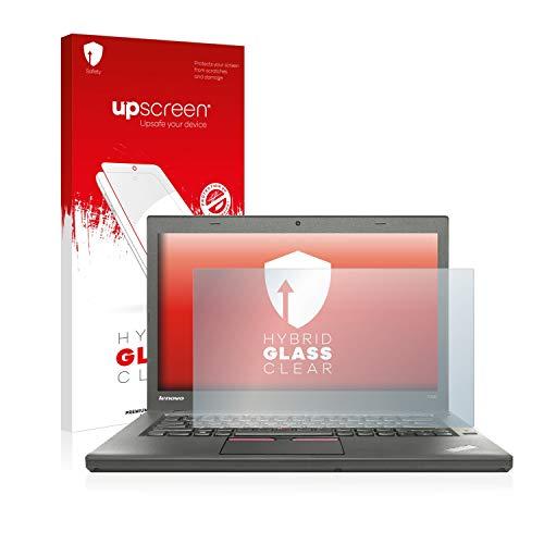 upscreen Hybrid Glass Panzerglas Schutzfolie kompatibel mit Lenovo ThinkPad T450 Non-Touch 9H Panzerglas-Folie