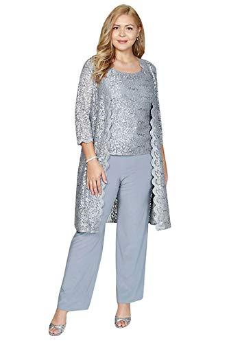 R&M Richards Mother of The Bride Plus Size Pant Suit