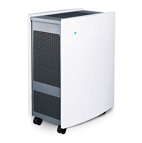 Blueair Classic 605 Air Purifier with HEPASilent Filtration for Allergen and Hay Fever Reduction, Large Rooms 775 sq. ft. WiFi Enabled, ALEXA compatible
