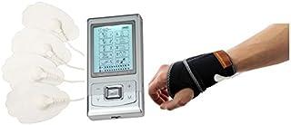 HealthmateForever 10 modos mejores de canal Dual eléctrico Smart dolor alivio impulso terapia masajeador máquina plata