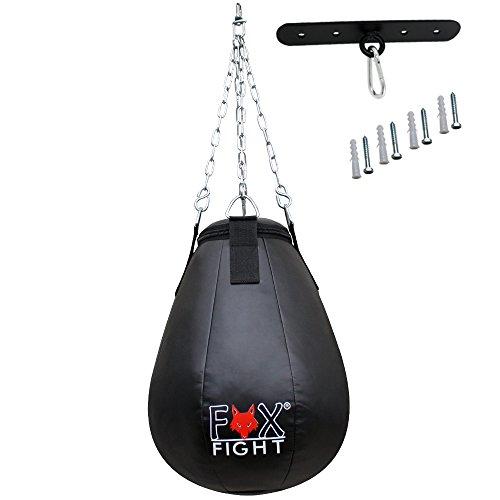 FOX-FIGHT Maisbirne professionelle hochwertige Qualität Boxbirne Boxball Boxsack Sandsack Training Grappling Sparring Muay Thai Kickbox Freefight Kampfsport BJJ