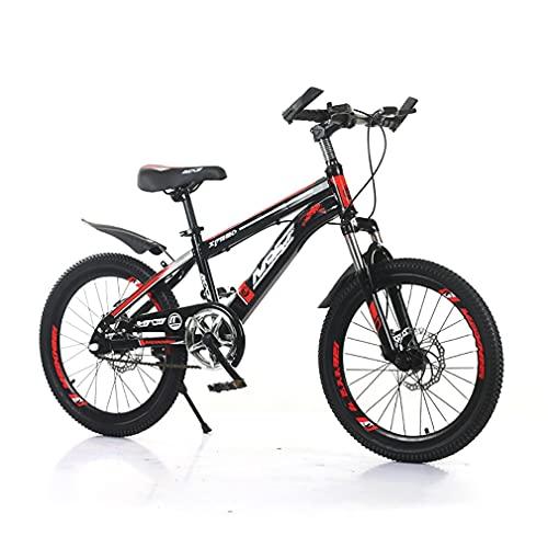 20 Pulgadas Bici Infantiles Bicicletas NiñOs,Bicicleta MontañA NiñOs/Freno Disco/Asiento Ajustable/Horquilla Resorte/Carga De 100 Kg/Apto para NiñOs Mayores 6 AñOs