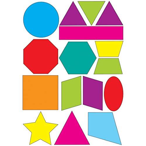 ASHLEY PRODUCTIONS Shapes Math Die-Cut Magnet, Multi (ASH10065)