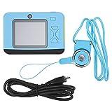 子供用カメラ、電子ギフト キッズ用カメラ IPS スクリーン ミニ、ビデオを録画して写真を撮る(blue, Pisa Leaning Tower Type)