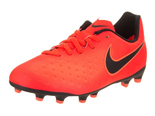 Nike Unisex-Kinder Magista Ola II FG Fußballschuhe Orange (Total Rouge Crimson/Black-Bright Mango)...