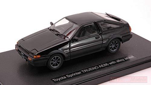 Ebbro MODELLINO in Scala Compatibile con Toyota Sprinter Trueno 1983 Black 1:43 EB44494