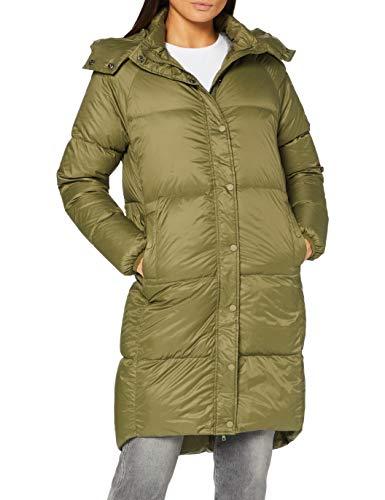 SPARKZ COPENHAGEN Damen Kay Midi Down Coat Daunenmantel, Khaki Green, 32