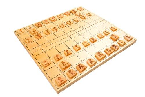 Quantum Abacus Monaco Lnea Premium: Shogi / Ajedrez japons de Madera, 30cm x 28cm Tablero de Juego - Mod. A0299