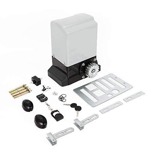 OUKANING - Accionamiento para puertas correderas (hasta 600 kg, con mando a distancia, 370 W)