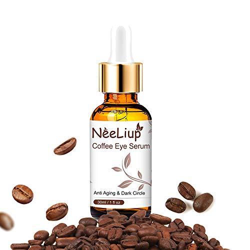 Anti Aging Eye Serum, Caffeine Eye Lift Serum for Dark Circles & Puffiness - Anti Wrinkle Eye Gel for Men and Women - Reduce Wrinkles, Bags, Saggy Skin