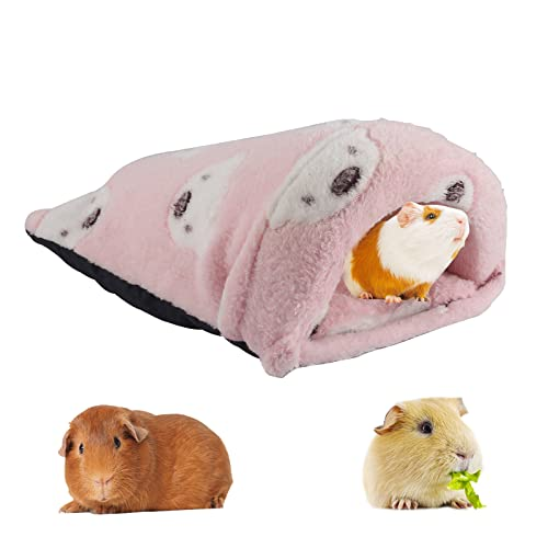 Meerschweinchen Haus,Kleine Tier Haus Nest,Warm Plüsch Kuschelhöhle,Kleintierbett, Hamsternest,Hamster Bett,Haustier Bett, Kleintier Haus für Igel, Meerschweinchen, Hamster ,Ratte