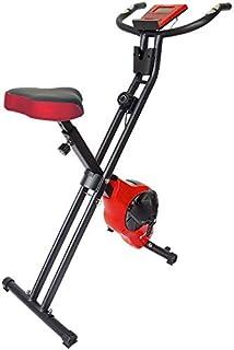 STEADY(ステディ) フィットネスバイク 折りたたみ式 小型 心拍数計測 静音マグネット式ベルト エアロバイク 負荷8段階 電源不要 ST102 [メーカー1年保証] スピンバイク 自転車トレーニング 有酸素運動 室内運動