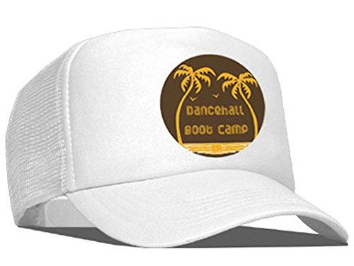 Tedd Haze – Casquette en maille dancehall Boot Camp/White