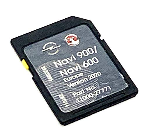 Neueste SD Karte 2020/2021 für Opel SD Karte Navigation Karte 2020/2021 Navi 600/900 Navi Cover All Europe, Teilenummer: T1000-27771