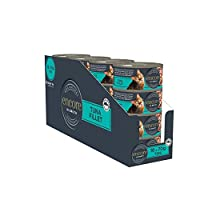 100% NATURAL INGREDIENTS that your pet will love. 75% TUNA FILLET More real meat and no unnecessary cereals, fillers or preservatives. Encore Cat Tin Tuna Fillet in Broth 70g Wet Cat Food COMPLEMENTARY PET FOOD Serve on its own or with any dry comple...