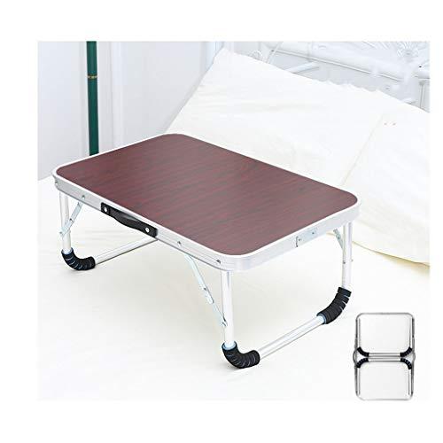 LDG Bed bureau, laptoptafel, inklapbaar, staande paneel, kinder-ontbijtdienblad, draagbare klaptafel, notebookstandaard voor bank