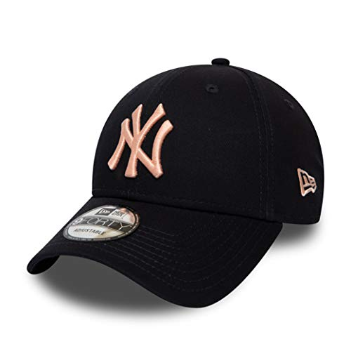 New Era New York Yankees MLB Cap Verstellbar Baseball 9forty Damen Blau Rosa - One-Size