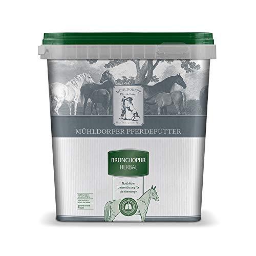 Mühldorfer Bronchopur herbal, 1,8 kg, fördert das Abhusten, beruhigt die Atemwege, mit wohltuendem Inhalier-Effekt, getreidefrei