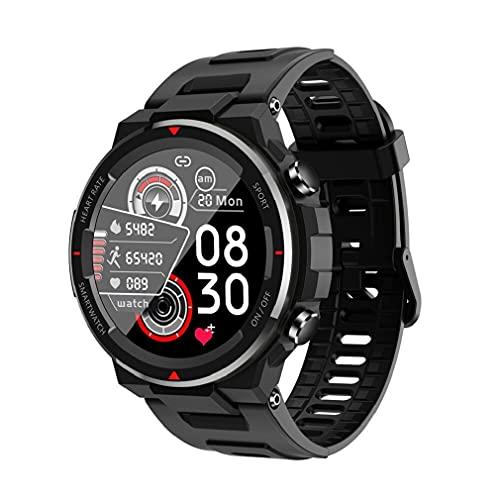 Relógio Smartwatch NAMOFO Esportes masculinos relógio inteligente 1.28 full full tela cheia redonda toque ip67 impermeável ao ar livre indoor fitness cuidados de saúde monitoramento smartwatch