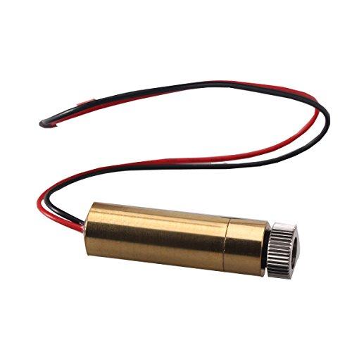 KKmoon 1500mW 405nm Blu-viola Luce Laser Capo per DIY Intaglio Incisione Macchina Incisore Accessori