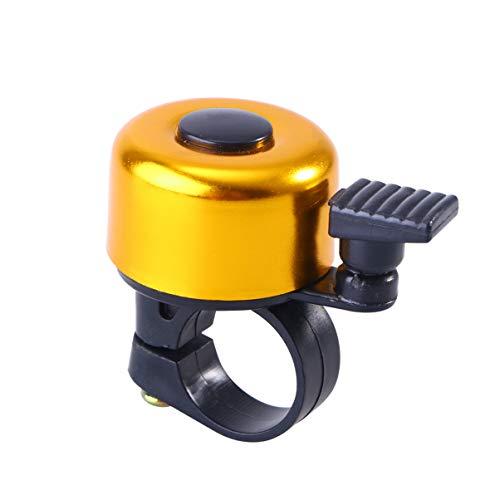 Beport Fietsbel van aluminiumlegering Stuurbel voor fiets MTB mountainbike trompet fiets accessoires voor fietsen - Goud