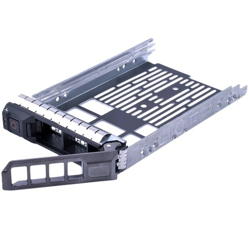 Dell SAS SATA Hard Drive 3.5 Inch Tray Caddy with Drive Mounting Screws for DELL Original 3.5' F238F 0G302D G302D 0F238F 0X968D X968D SAS/SATAu,DELL Poweredge R610, R710, T610, T710